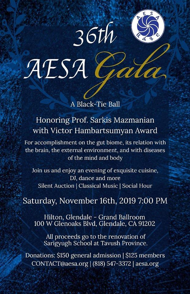 36th AESA Annual Gala