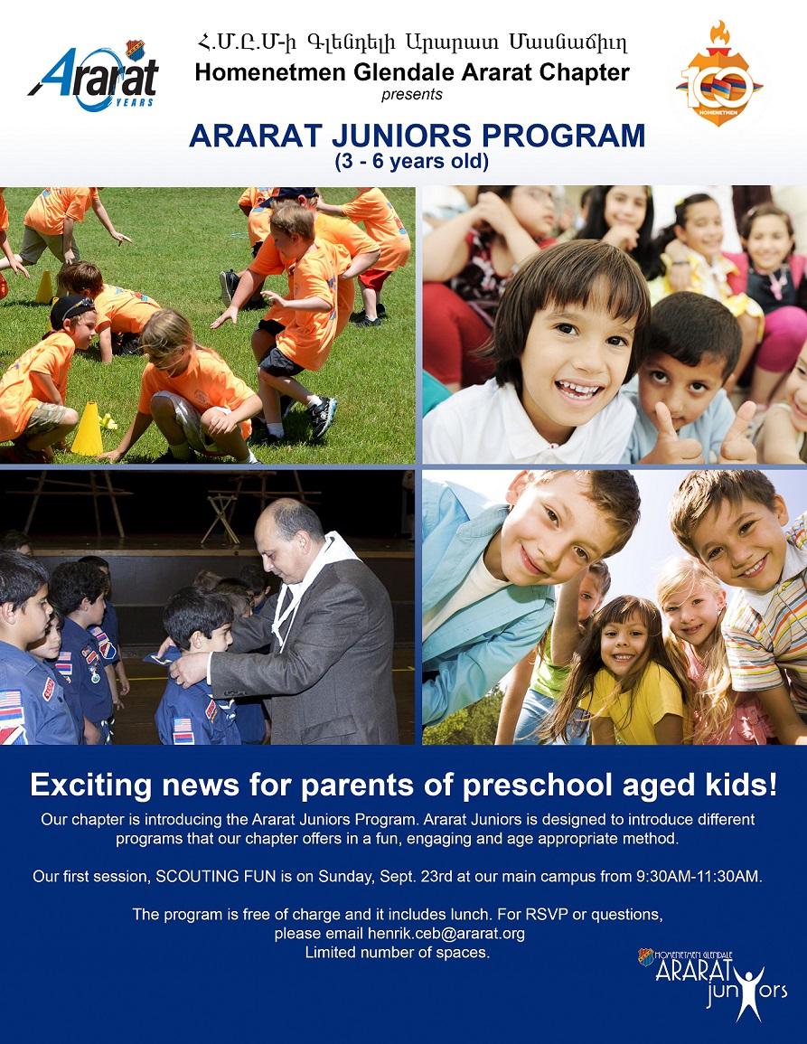 Ararat Junior's Program