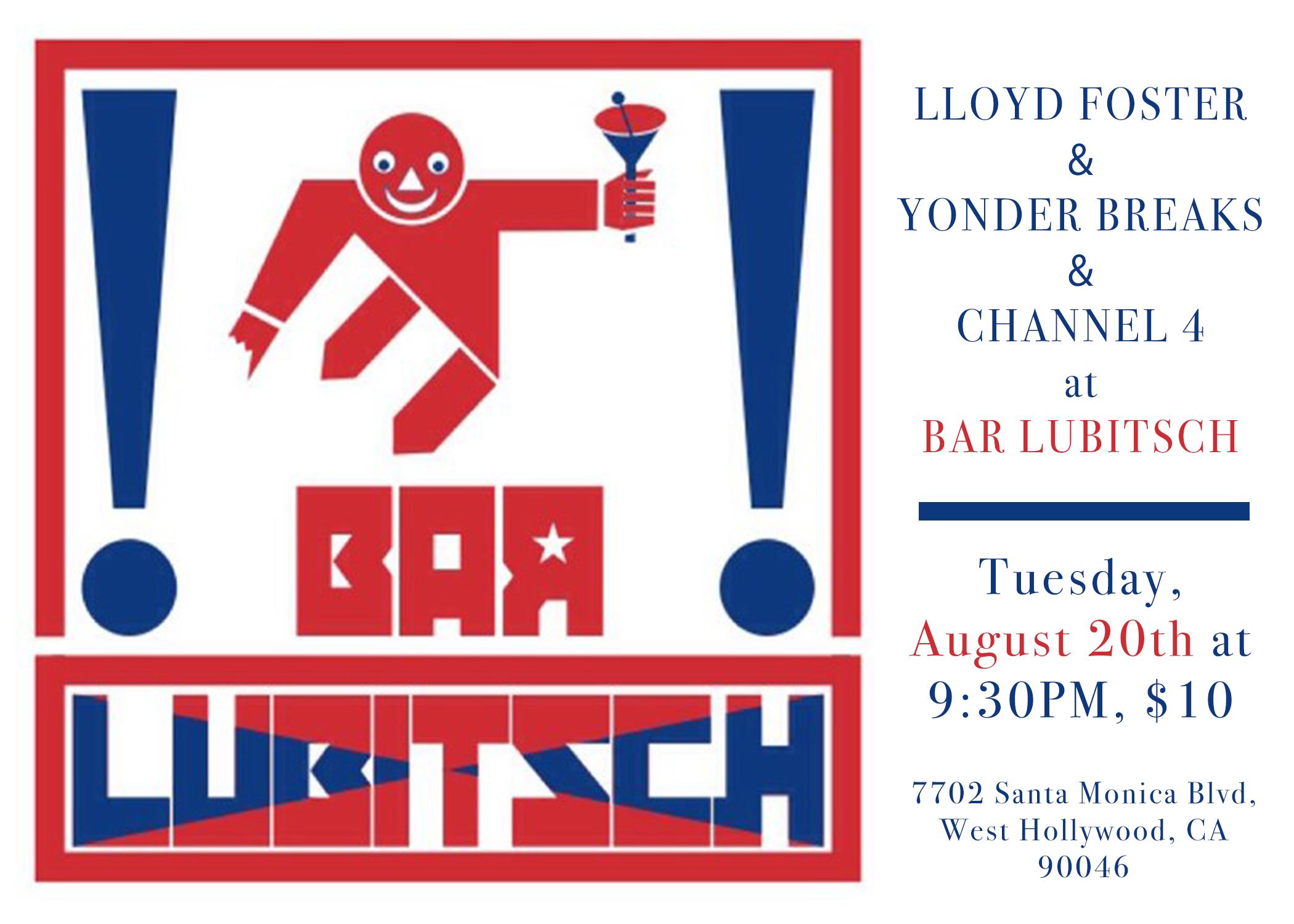 Lloyd Foster - Yonder Breaks - Channel 4