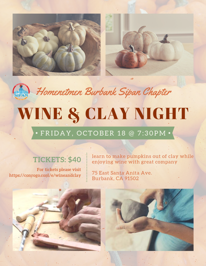 Wine & Clay Night